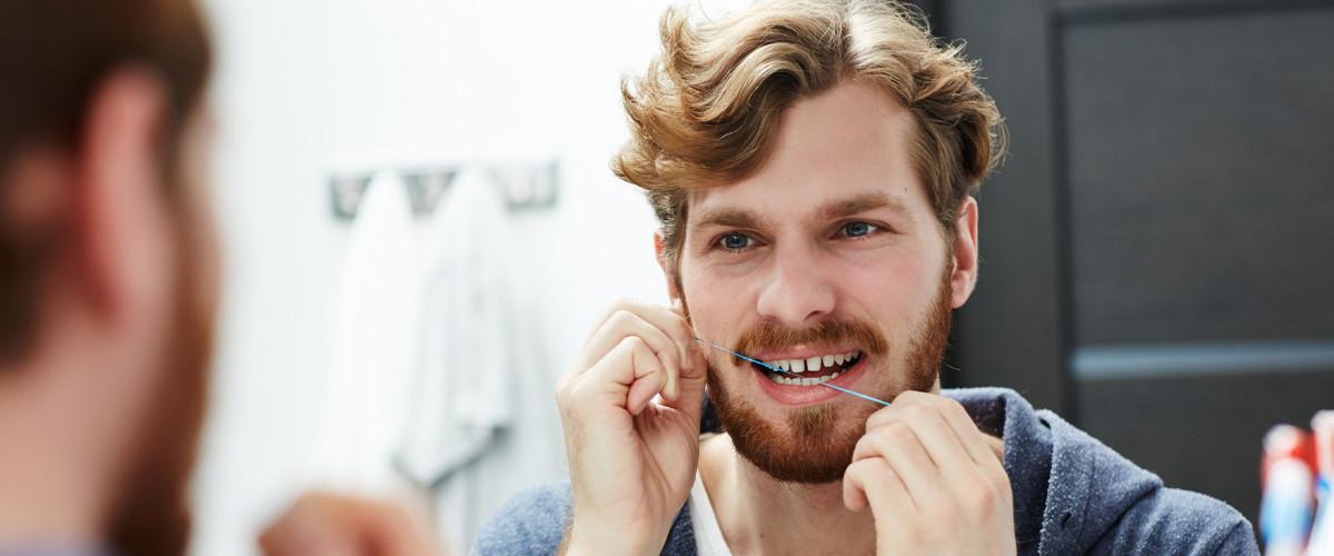 Uso del hilo dental